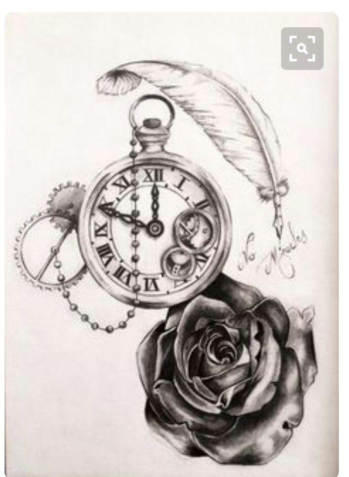 Pin By Miles Gordon Massey On Tatoo Horloge Tattoo Tatouage