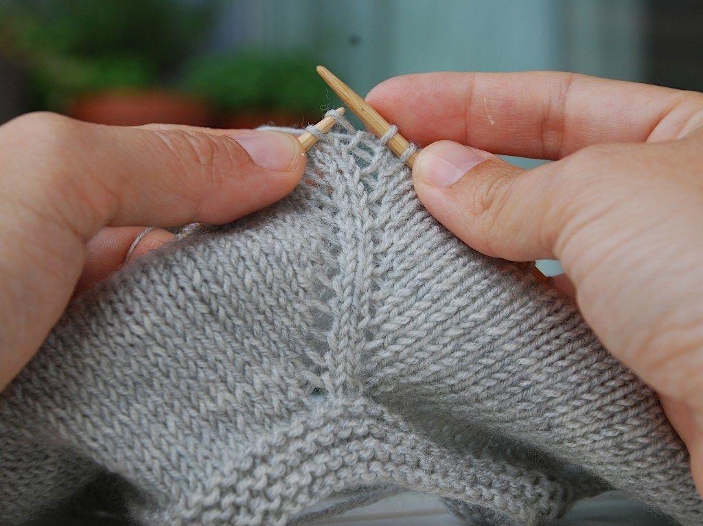 Sådan laver du raglan - opskrift med billeder - strikker.dk #strikkeoppskriftgenser