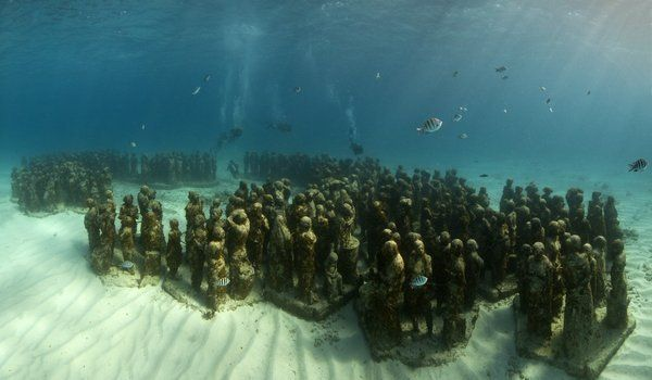 The Cancun Underwater Museum - Cancun, Mexico