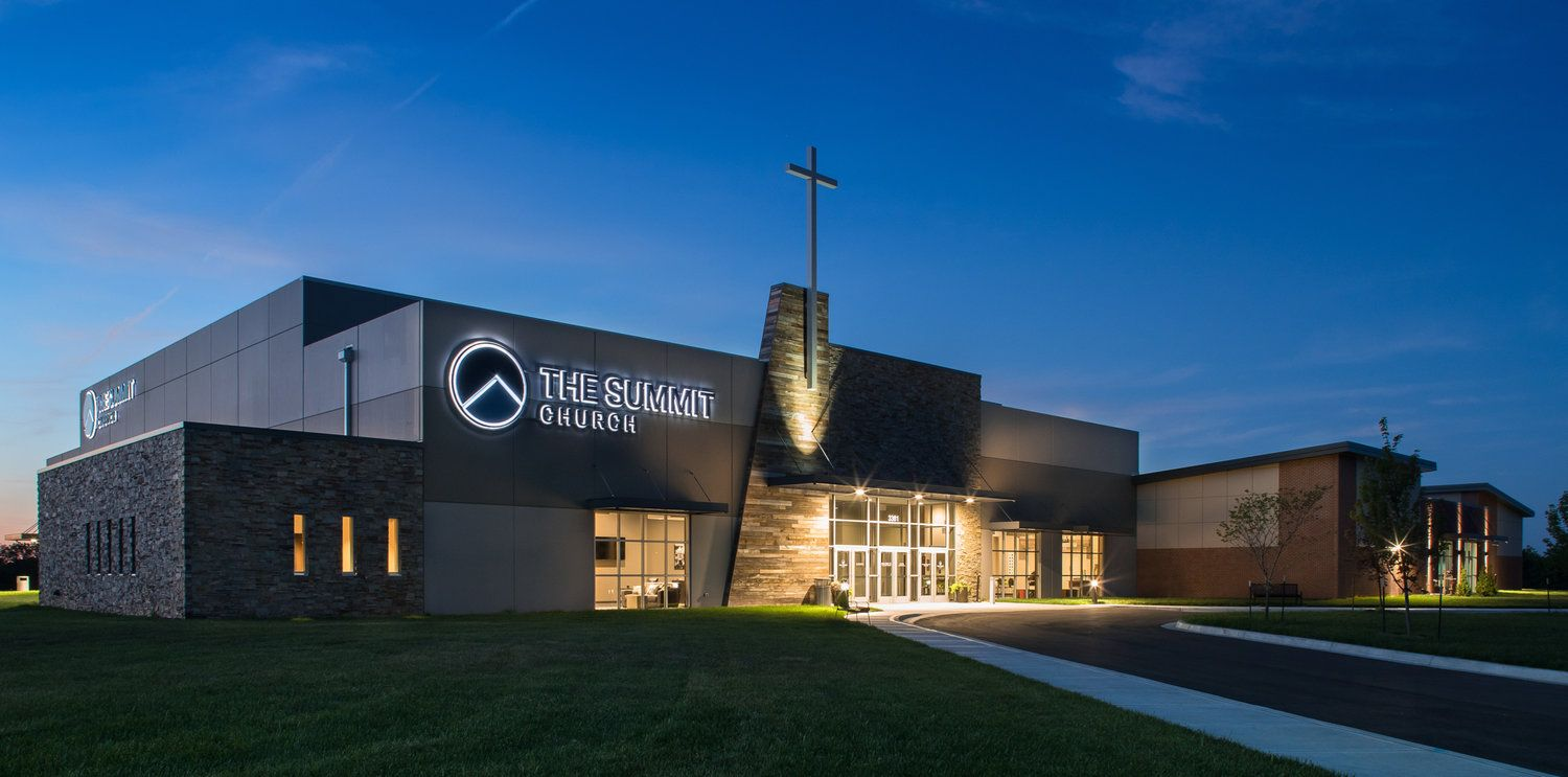 The Summit Church Church building design, Church
