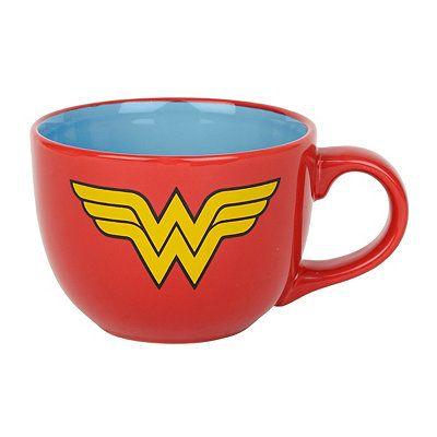 Wonder Woman Soup Mug
