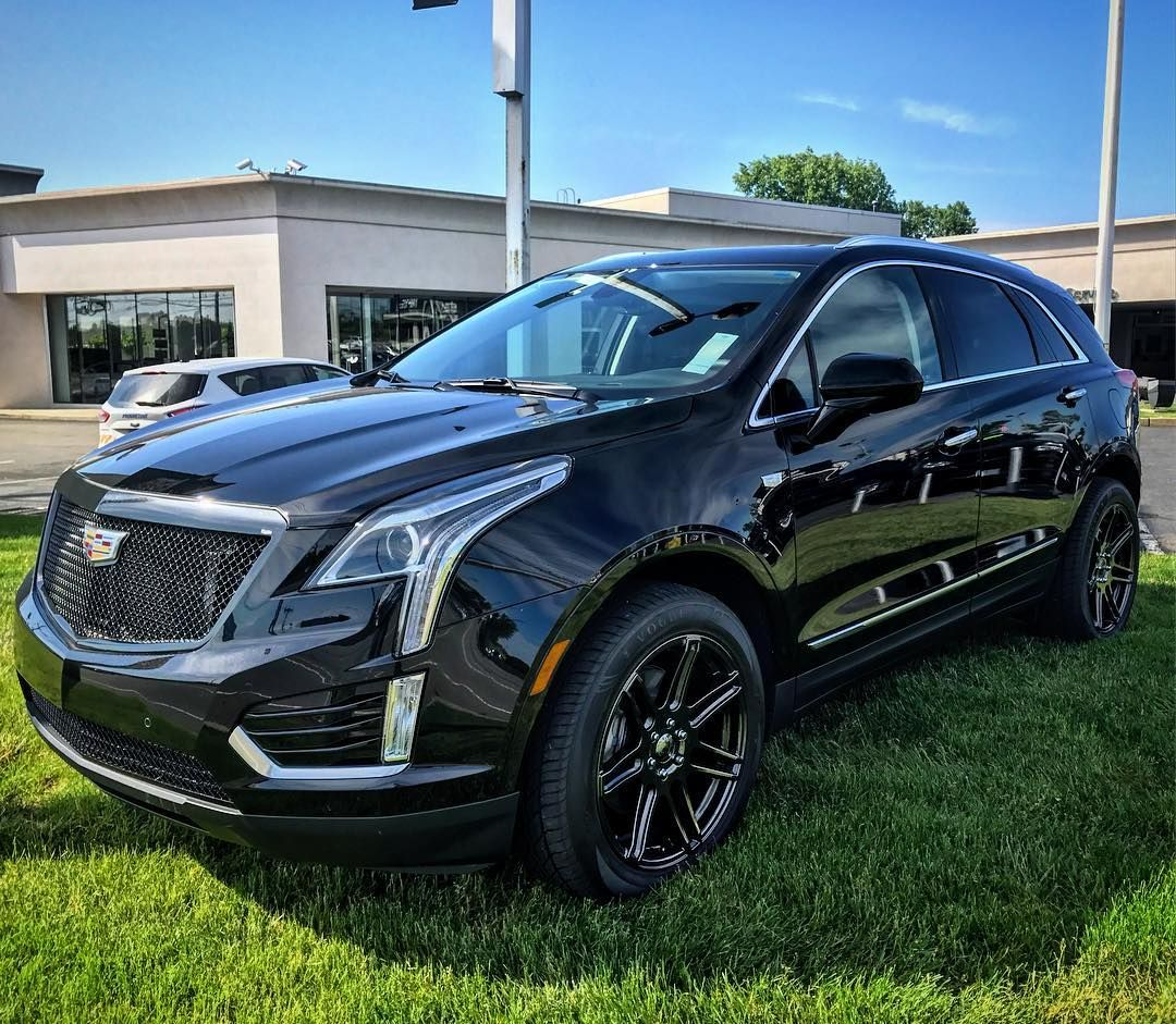 2017 srx lowered black