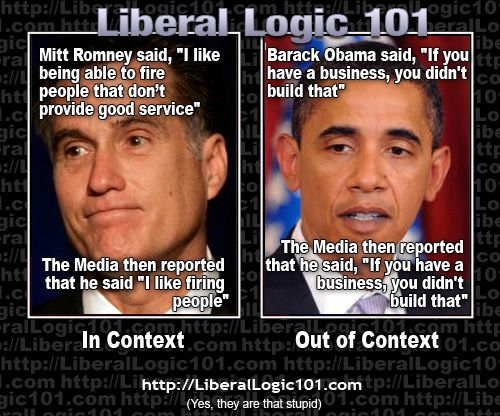 Image result for liberal logic 101 obama