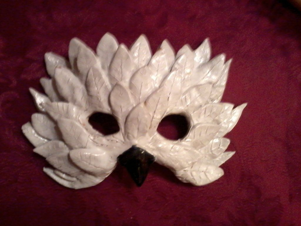 Snowy Owl Mask by Naraki on deviantART | 500 Princesses ...