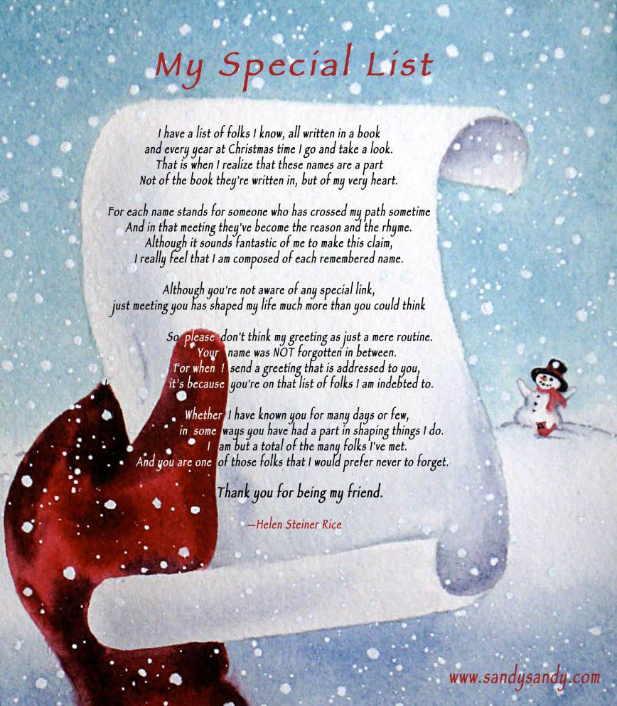Christmas poems we got a christmas card from friends with this christmas poems we got a christmas card from friends with this poem kristyandbryce Images
