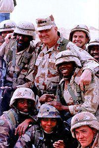 Norman Schwarzkopf, Command General, Achievement Photos.