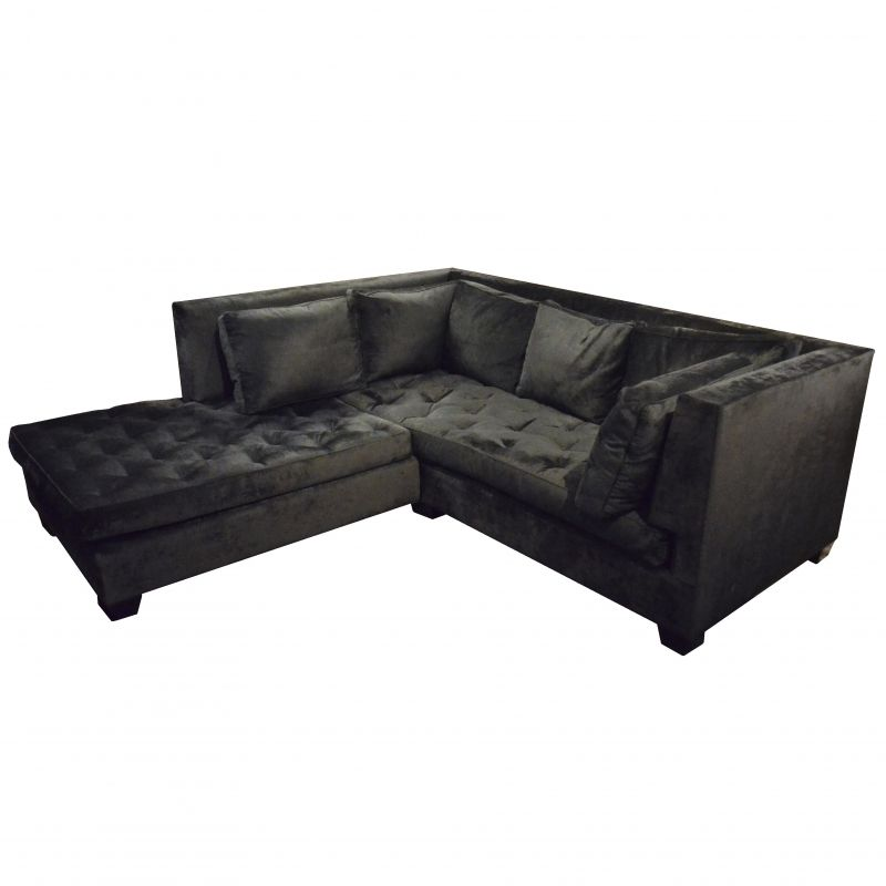 Attrayant J. Edlin Interiors Custom Black Sectional. #modern #design #consignment # Furniture
