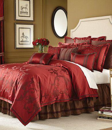 Red Comforter Set At Dillards Master Bedroom Pinterest Red Comforter Comforter And Bedrooms
