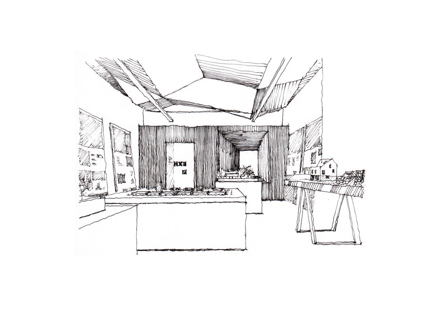 Galeria De 42 Croquis Dibujos Y Diagramas De Espacios De