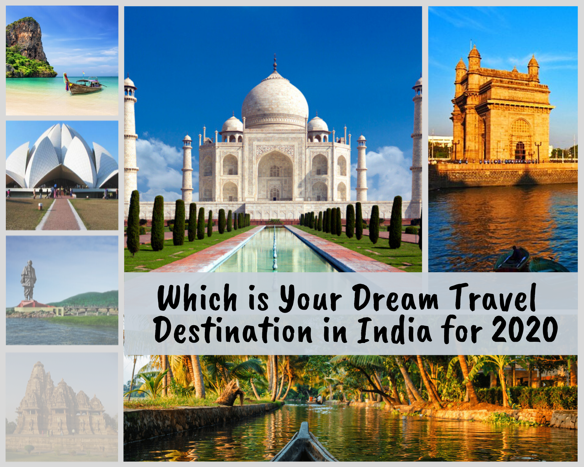 Which Place Do You Really Want to Visit in India This Year?