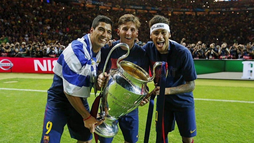 Las mejores imágenes de Luis Suárez en la temporada 2014/15   FC Barcelona