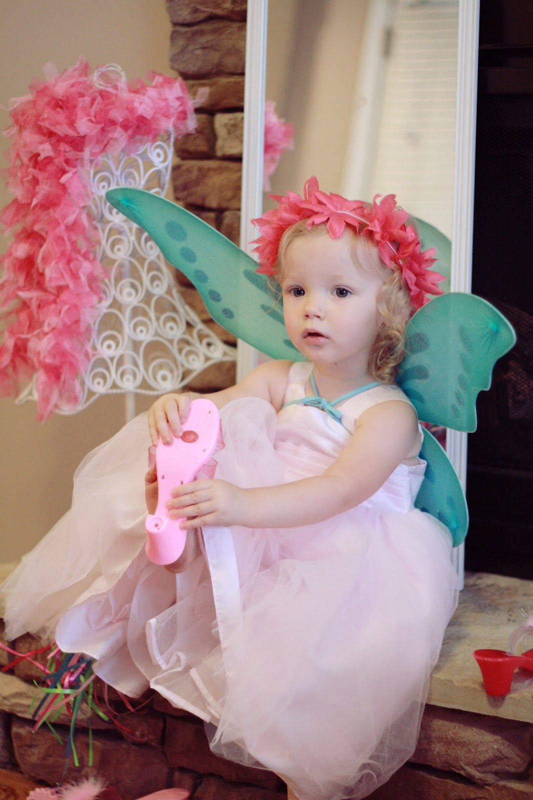 Toddler Dress-up B-day Party