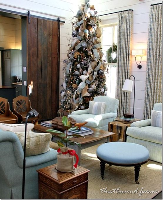 20 Decorating Ideas from the Southern Living Idea House Navidad - southern living christmas decorations