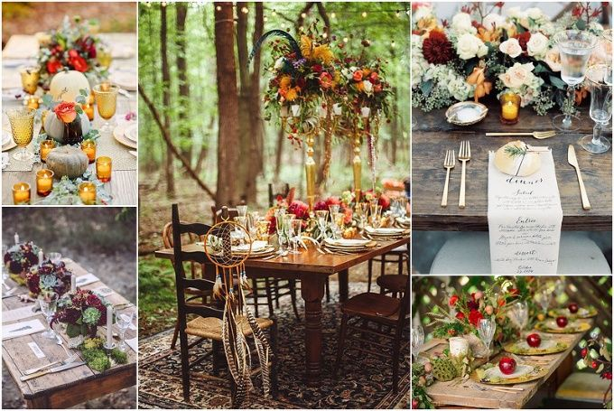 Fall Wedding Tablescape Inspiration