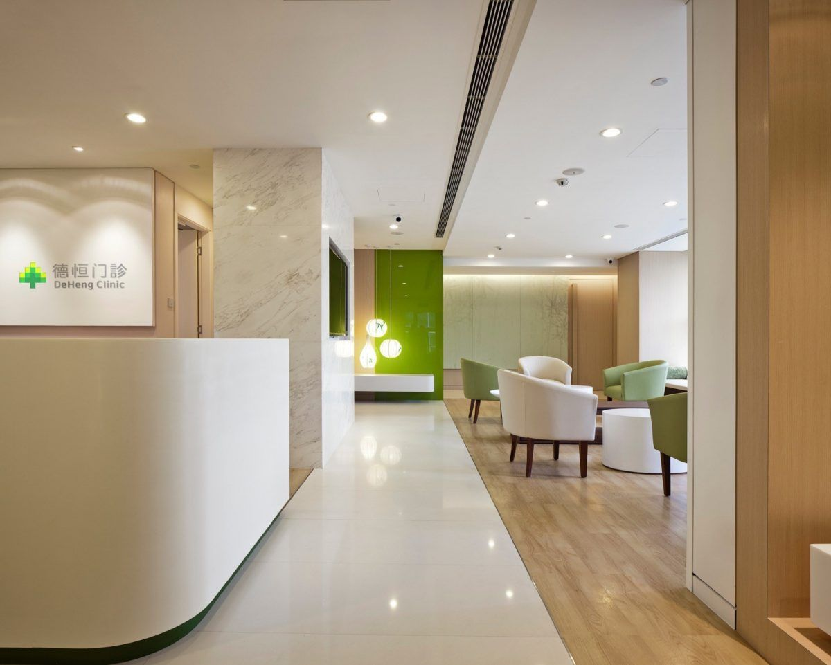 Interior Design Architecture And Engineering Offices In Beijing And Shanghai Healthcare Interior Design Hospital Interior Hospital Interior Design