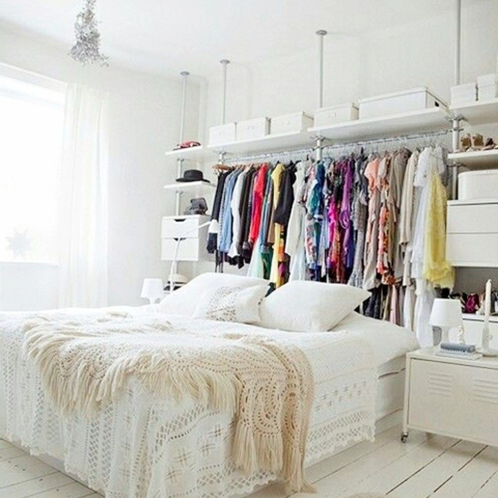 Creative Storage Solutions For Small Spaces Small Space Storage Bedroom Bedroom Storage Ideas For Clothes Small Room Design