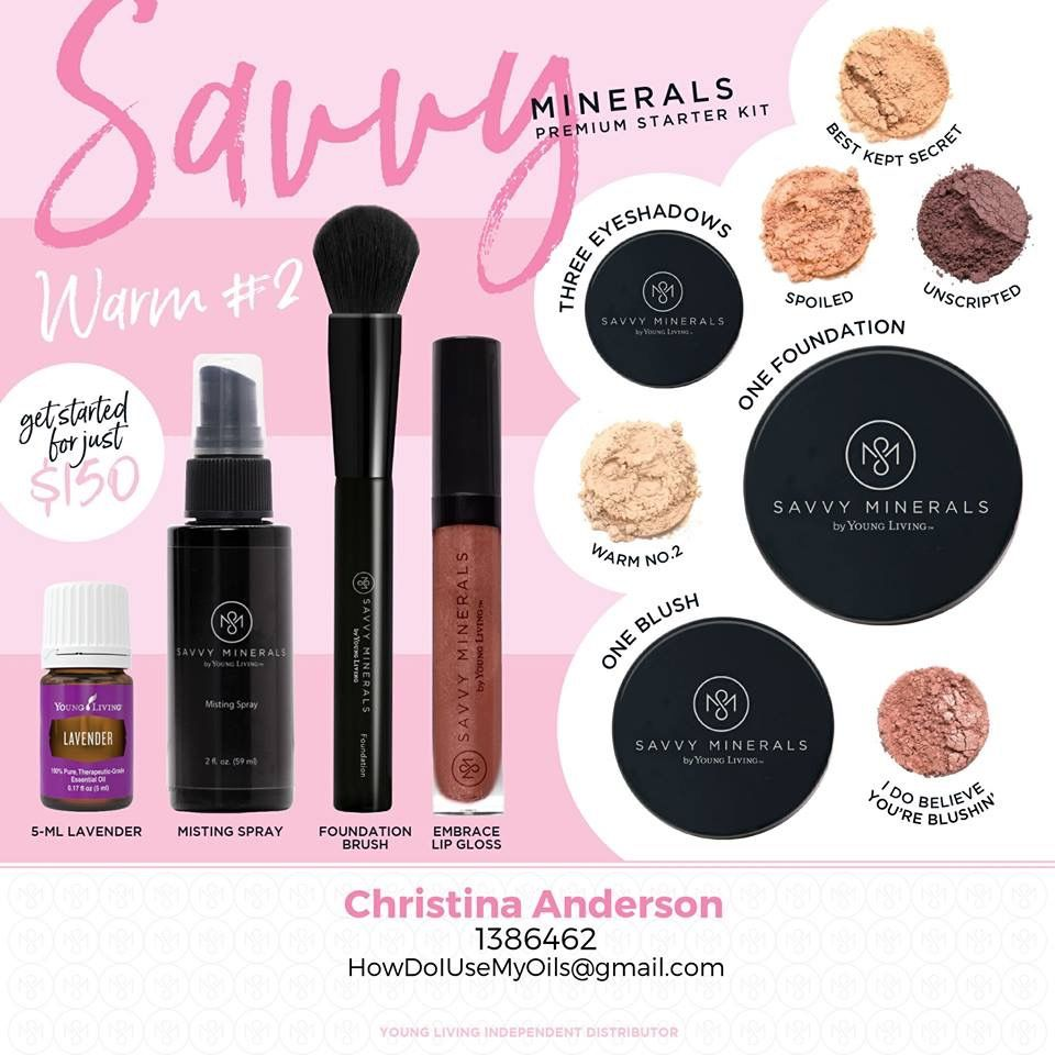 Pin by Essentially Oily Living on Savvy Minerals Premium