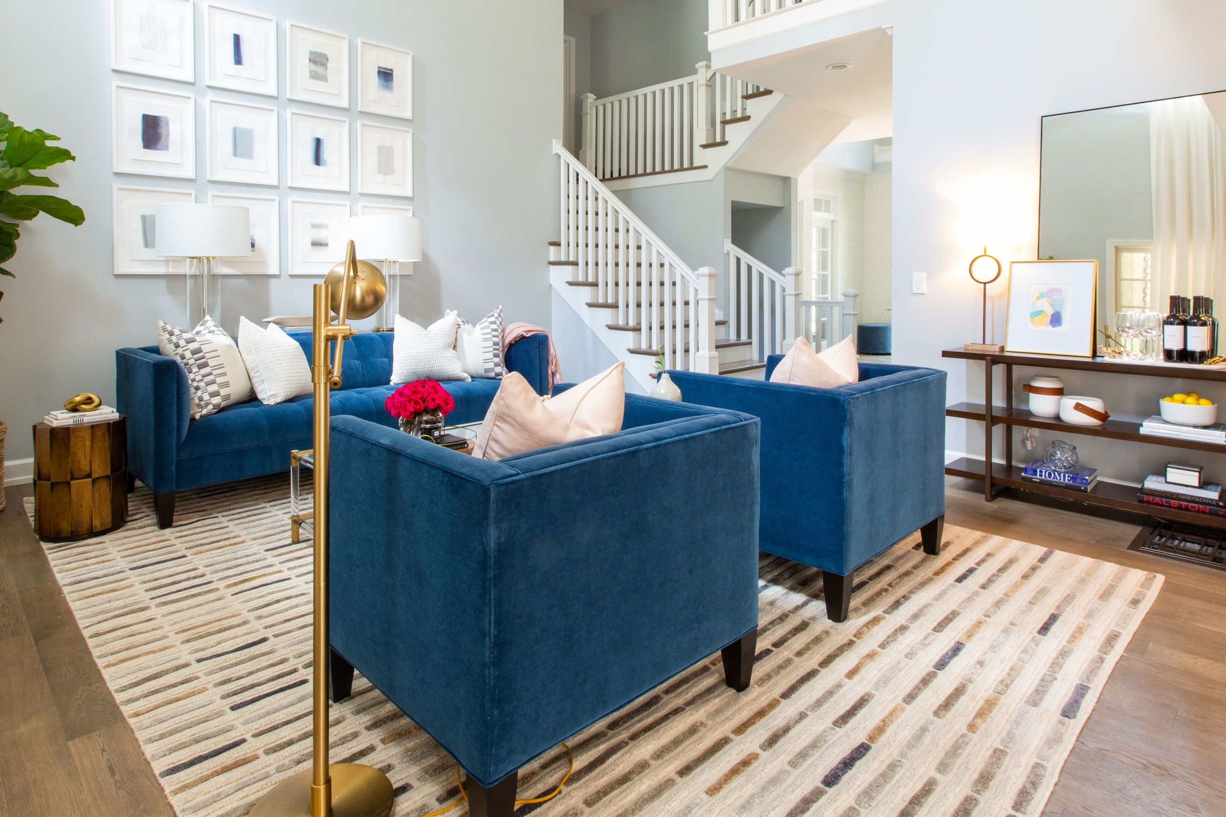 Did You See Our Furniture On Hgtv S Property Brothers 6 Nashville Home Renovation Episodes Feature Pi Living Room Property Brothers Designs Living Room Images