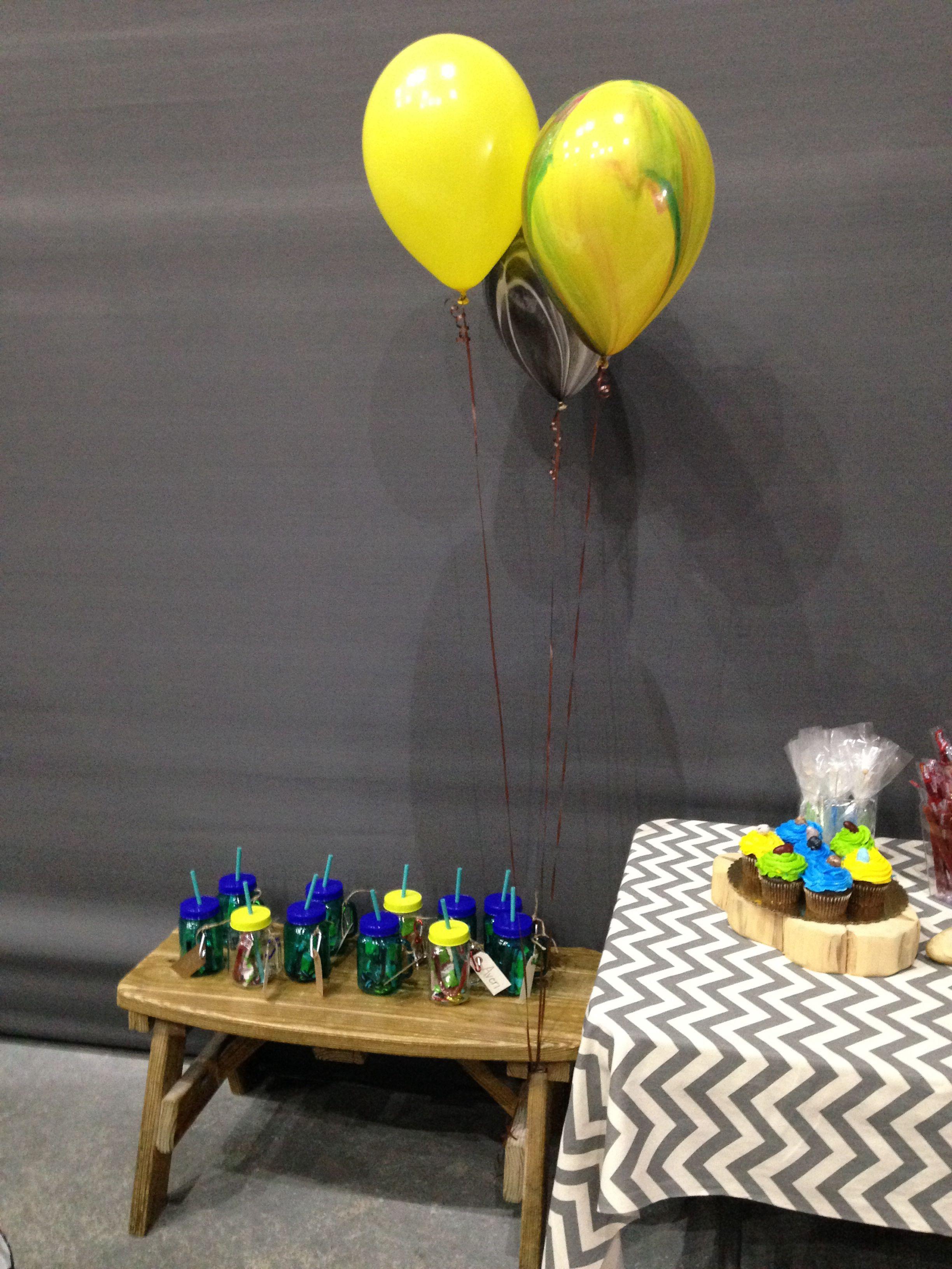 Add a few fun balloons into the mix fun balloons