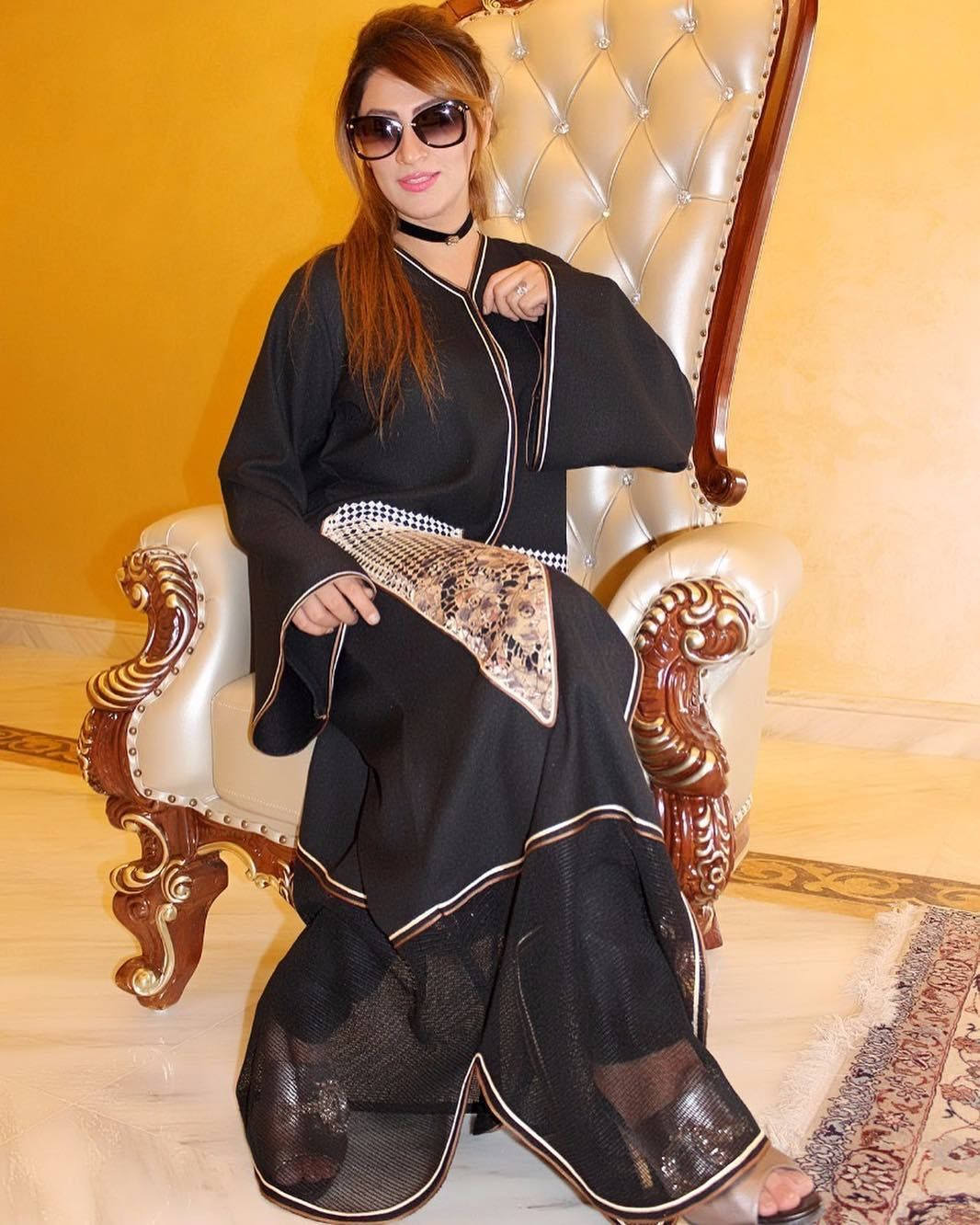 Design No L034 Abaya Materials altebet Al Tebet