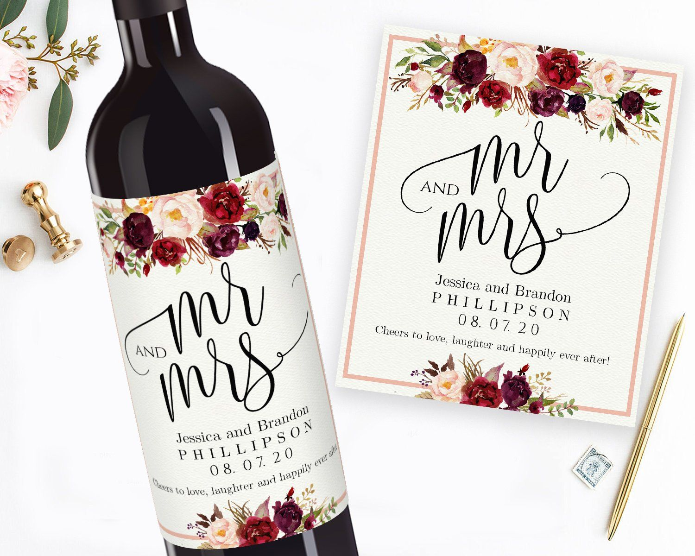 Printable Wedding Wine Labels Editable Wine Personalized Wine Etsy Wine Bottle Labels Wedding Wedding Wine Labels Personalized Wine Labels