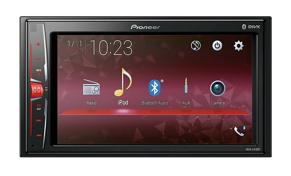 452 Pioneer USB AUX MP3 1DIN Autoradio für Smart Roadster