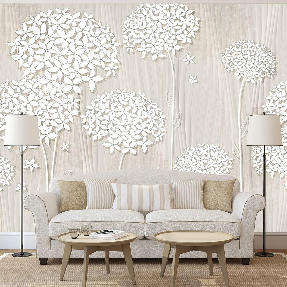 Wall Mural - Creamy Daintiness #style #homedecor #beauty