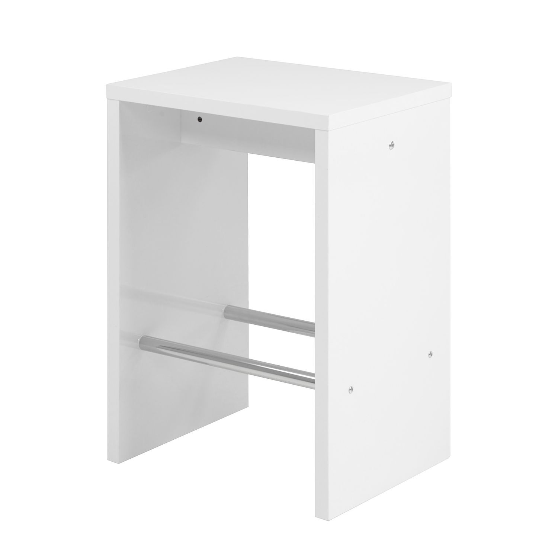 Barhocker Jersey - Hochglanz Weiß, Home Design Jetzt bestellen unter ...