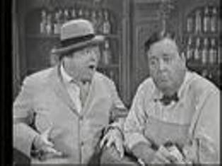 Jackie Gleason Show With Joe The Bartender And Crazy Guggenheim