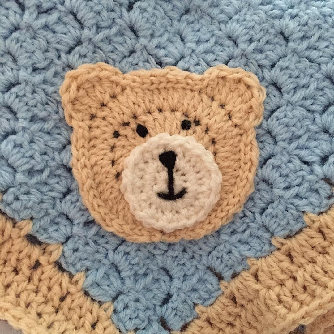 Sneak Peek  working on an order.  LINK in my Bio for my ETSY shop. #crochet #crochetbaby #crochetbabyblanket #crochetbabyset #crochetblanket #crochetbear #yarn #crochetblue #crochetaddict #crochetbabyhat #crochethat #crochetbearhat #crochetc2c #crochetcornertocorner #babyshowergift #babybearblanket #babybearafghan #crochetbabyafghan #knotyourgrannysqshop by knotyourgrannysqshop