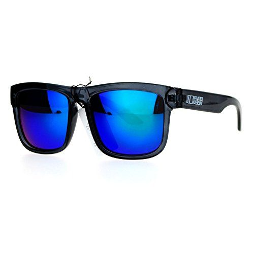 ca78cd5a7f1 Kush Mens Neon Pop Horn Rim Sport horned Sunglasses Slate Teal -- To view  further for this item