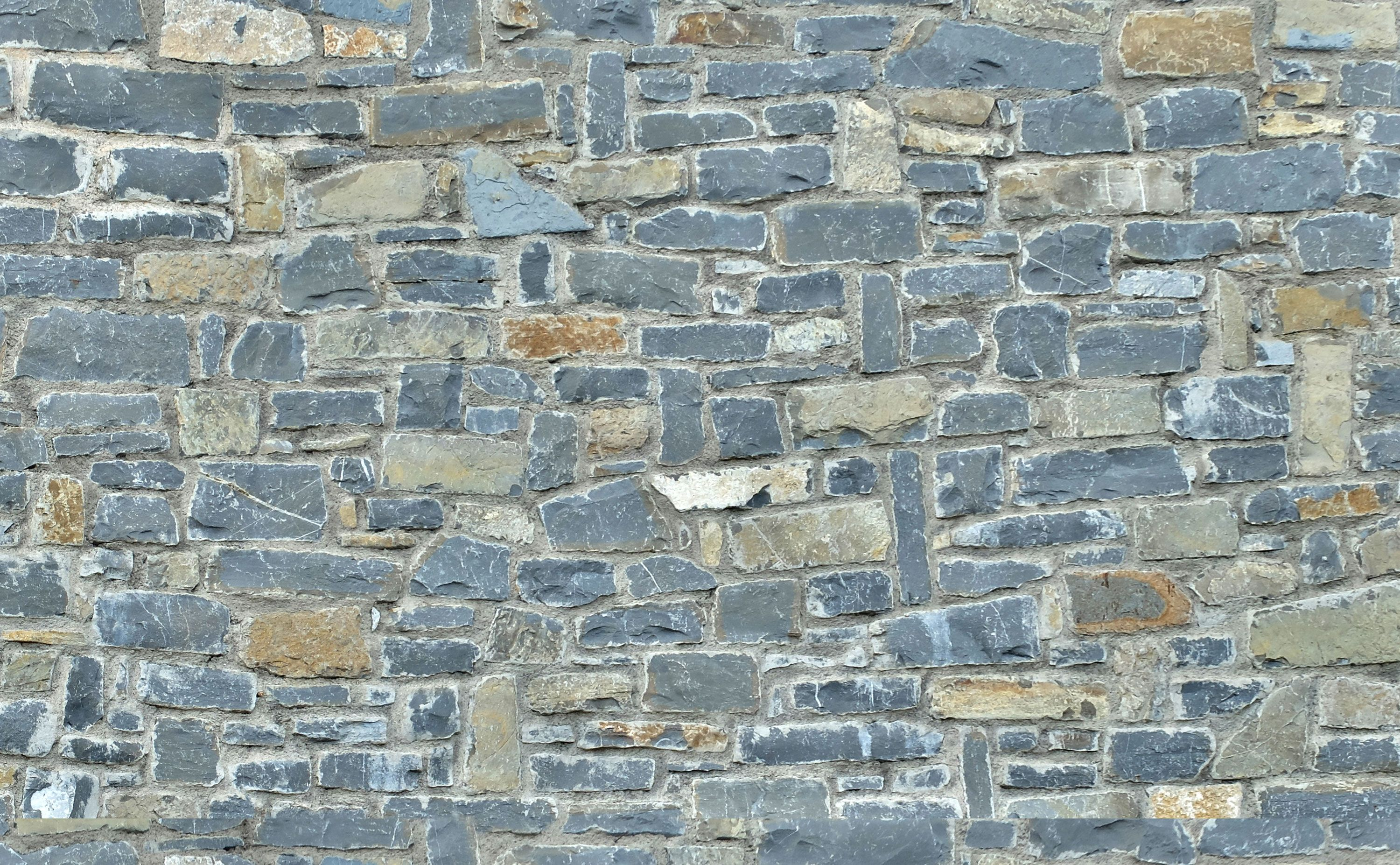 Stone Rubble Wall Seamless Texture Materials Textures