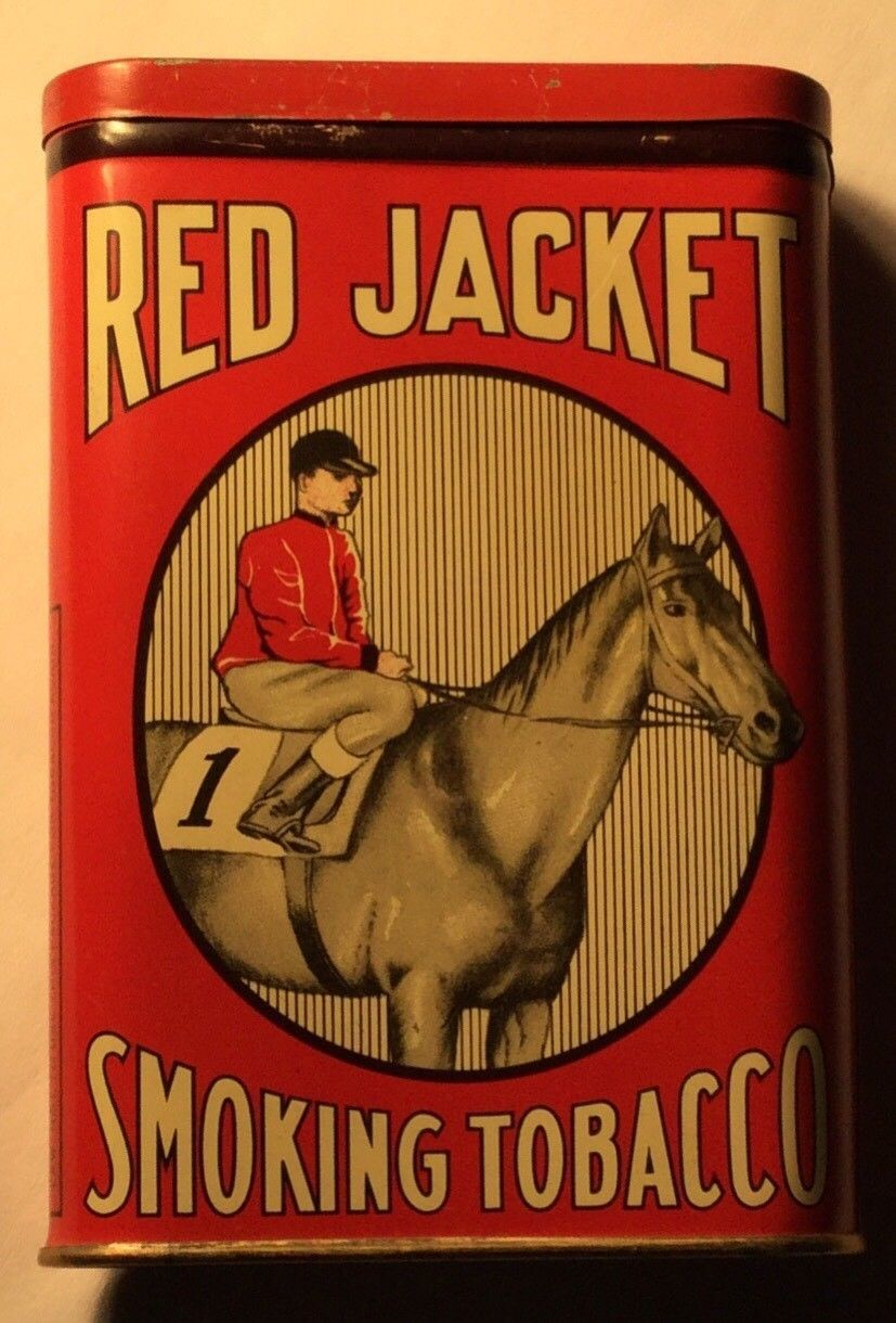 https://picclick.com/Vintage-Red-Jacket-Smoking-Pipe-Tobacco-Tin-Can-332448258077.html