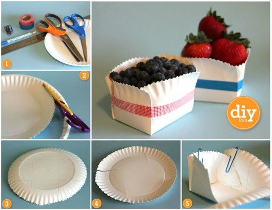 Diy Paper Plate Cookie Basket Video Tutorial | The WHOot & DIY Paper Plate Cookie Basket Video Tutorial | Pinterest | Cookie ...