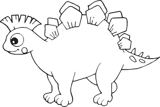 Dinosaur Coloring Pages Fish Pictures Free Kids Book
