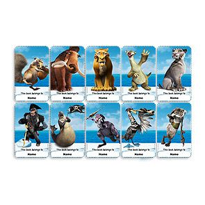 Ice age 4 characters names and pictures for The book of life characters names