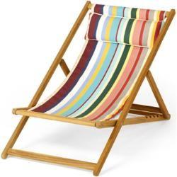 Photo of Weishäupl Cabin Deck Chair Basic Natural Dolan Weishäupl