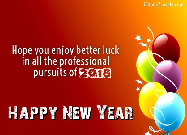 business new year wishes 2018