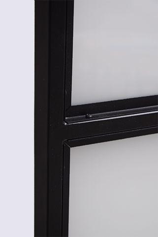 Steel industrial sliding door, model ATELIER reno