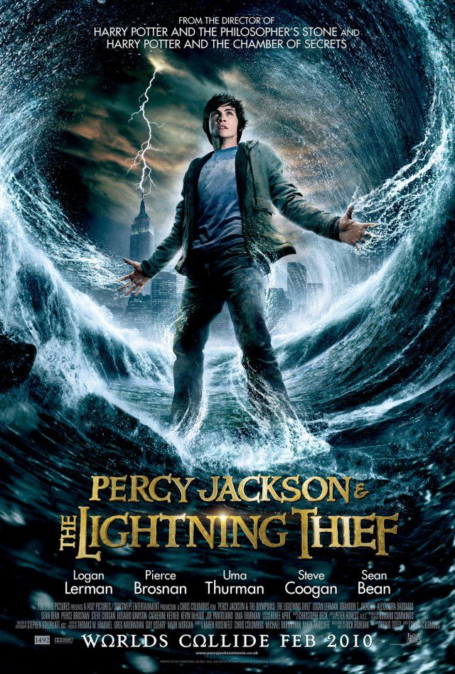 Percy Jackson The Lightning Thief Percy Jackson Movie Percy