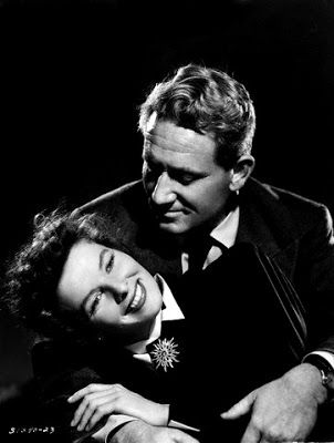 Spencer Tracy and Katharine Hepburn, WOMAN OF THE YEAR (1942). These two are such a power couple.