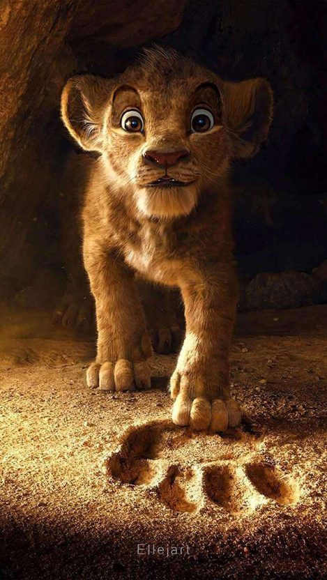 The Lion King Simba Iphone Wallpaper Free Getintopik Lion Wallpaper Lion King Art Lion King Simba