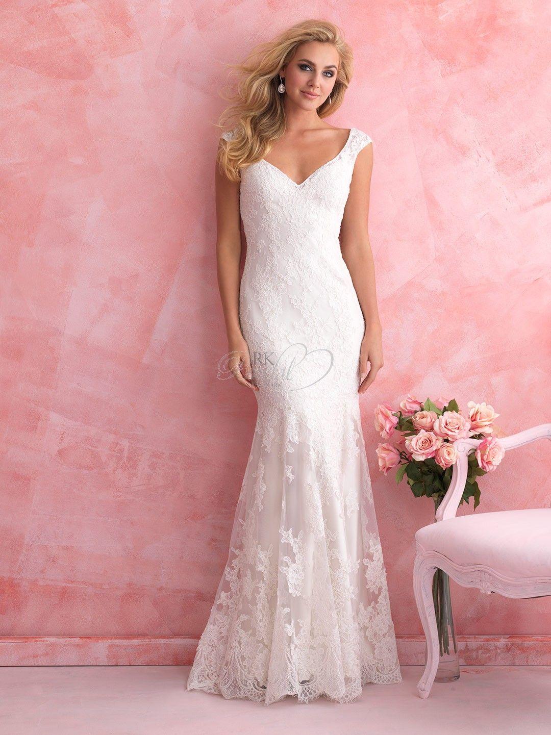 Wedding dress slip  Allure Bridal Spring  Romance Collection Style   Wedding