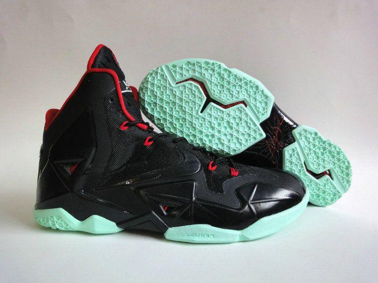 timeless design 8a627 fbe38 Nike Lebron 11 Yeezy Black Teal