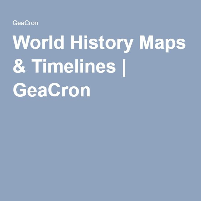 World history maps timelines geacron american history world history maps timelines geacron gumiabroncs Choice Image