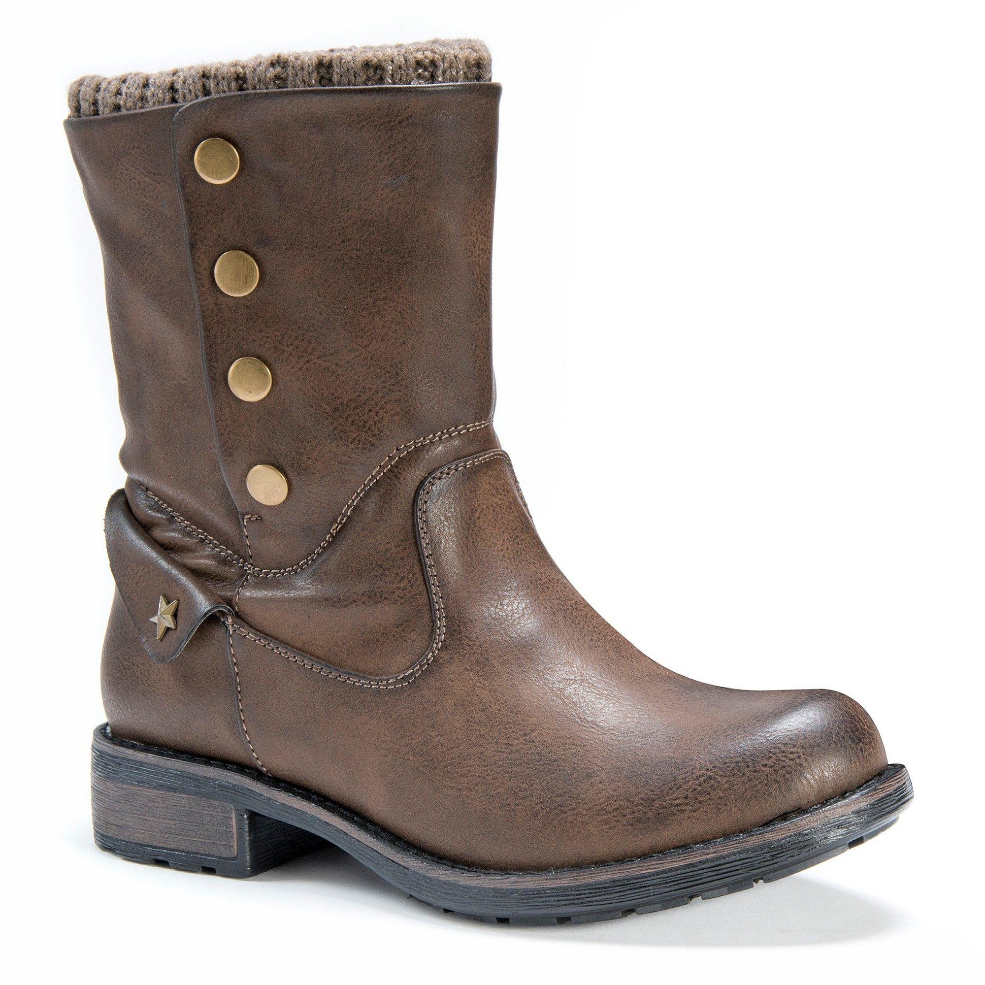 b42bf4a7571b Women s Muk Luks Crumpet Boots - Brown 9