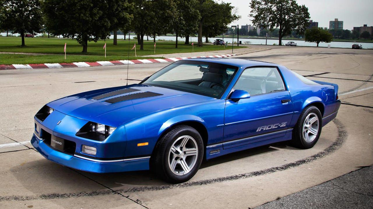 1989 Chevrolet Camaro Iroc Z 1le Hot Rods Pinterest