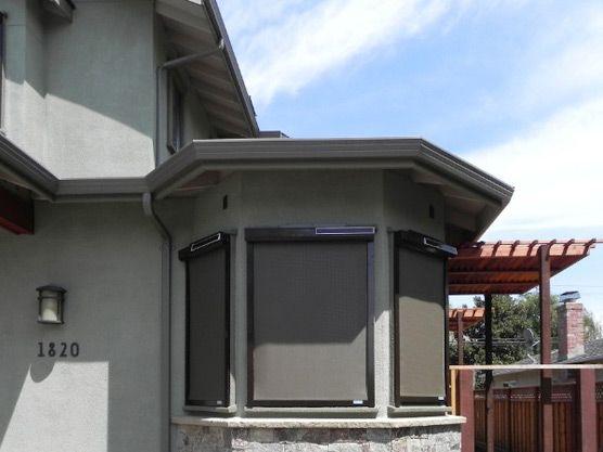 solar screens (external)
