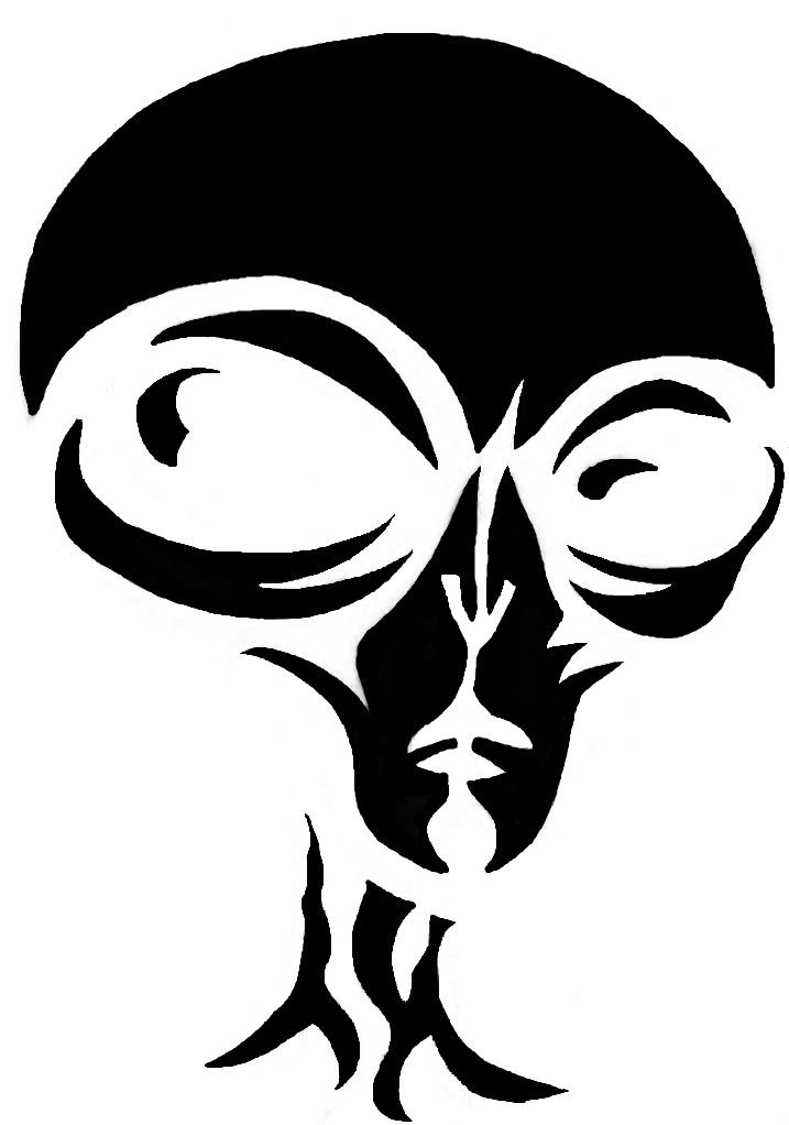 Alien Stencil