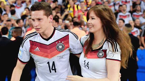 Julian Draxler S Longtime Girlfriend Lena Stiffel Bio Wiki Julian Draxler Football Girls Girlfriends